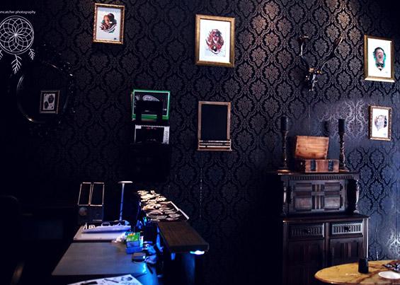 Ouija Tattoo Parlor