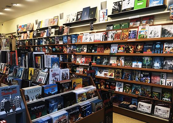 Librairie Bédéciné