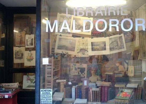 Librairie Maldoror