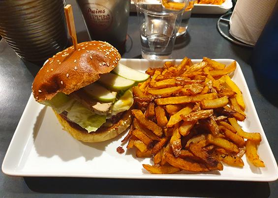 Burger à la une Saint Pierre