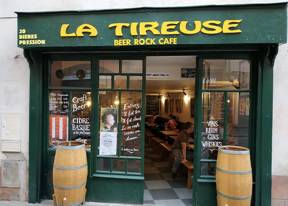 Beer Rock Café « La Tireuse »